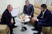 Putin, Habib Nurmagomedov'u tebrik etti