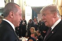 Başkan Erdoğan, Trump ile bir araya geldi