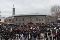 Yeni Zelanda'da iki camiye terör saldırısına Diyarbakır'da protesto