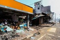Sri Lanka Gampaha'daki Müslümanların iş yerlerine saldırı