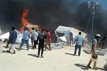 Azez ilçesinde motosiklete yerleştirilen bomba patlatıldı, ölü ve yaralılar var