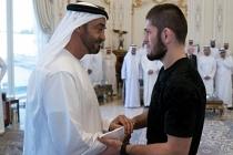 Nurmagomedov  Abu Dabi'de Zayed Nahyan'ın karşısına çıktı