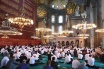 Şeyh Hıfzı Ebu Suneyne: Ayasofya'da namaz kılınması yüreğimize su serpti