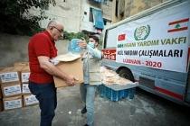 İHH'dan 16 bin Lübnanlı'ya acil yardım