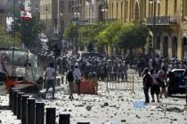 Lübnan güvenlik güçleri göstericilere şiddet kullanmakla suçlanıyor