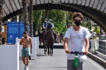 Paris'te maske kullanımı zorunlu hale gelecek