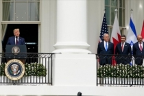 İsrail ile BAE ve Bahreyn arasında varılan anlaşmalar Beyaz Saray'da imzalandı