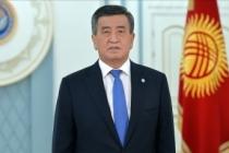 Kırgızistan Cumhurbaşkanı Ceenbekov'dan itidal çağrısı