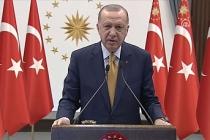 Erdoğan Arnavutlar'a seslendi