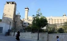İsrail'den Harem-i İbrahim Camii'ne giriş yasağı