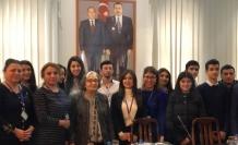 Gülten Dayıoğlu Azerbaycan'da okuyucusuyla buluştu