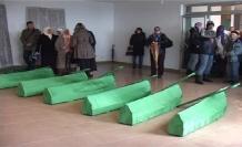 Bosna Savaşı'nın 20 kurbanı toprağa verildi