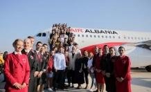 THY ve Arnavutluk'un ortak hava yolu şirketi ilk uçuşunu yaptı