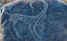 Kırgızistan'da merak uyandıran 4 bin yıllık kaya resimleri