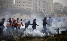 İşgal askerleri 4 Filistinliyi yaraladı