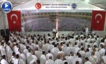 2 milyonu aşkın hacı adayı, Arafat Vakfesi'ni yaptı | VİDEO