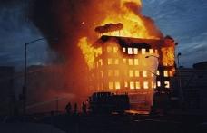 ABD'de Türk gazetecilerin otelinde yangın
