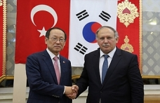 Artvin Valiliği G. Kore büyükelçisini ağırladı