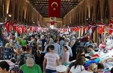 Bulgarlar bayram için Edirne'ye akın etti