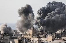 İsrail Gazze'yi havadan vurdu
