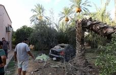 Trablus'taki son çatışmalarda olan sivillere oldu
