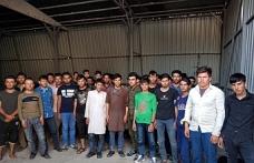 Van'da kaçak göçmenlere operasyon