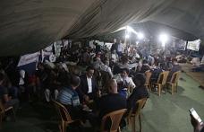 Han el-Ahmer nöbeti devam ediyor