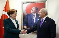Kılıçdaroğlu ve Akşener ittifakı görüştü