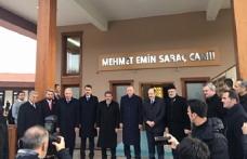 Erdoğan, Mehmet Emin Saraç Camii'nin açılışını yaptı