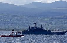 Rus gemisi Çanakkale Boğazı'ndan geçti