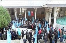 Sabah Namazı Devrimi Hareketi, Doğu Türkistan için toplandı