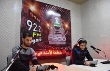 Azez'de Güvenli Bölge Radyosu yayına başladı