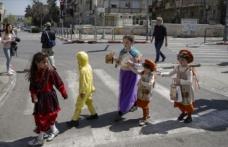 İsrail'de 'Purim Bayramı' kutlanıyor