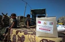 'Gazze'ye Hayat Ol' Platformundan 430 aileye gıda yardımı