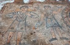 Mardin'de 1624 yıllık kiliseye ait mozaikler gün yüzüne çıkarılıyor