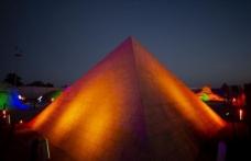 Kumdan Keops Piramidi, Guinness'e aday