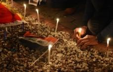 Kerkük'te Bağdat saldırısı protesto edildi