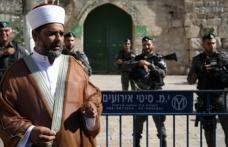 Mescid-i Aksa Müdürü: İsrail Filistinlilerin ibadetini engelliyor