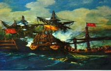 Ruslar Çeşme'de Osmanlı Donanmasını yaktı