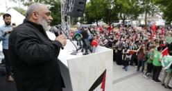 Filistin direnişine İstanbul'dan büyük destek