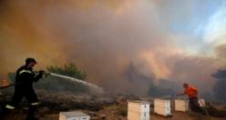 Yunanistan yangını