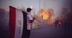 Basra'da halk protestosu