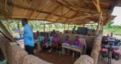 Gana'da öğrenci olmak emek ister