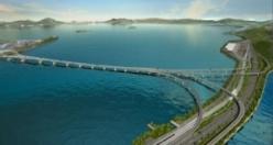 Dünyanın en uzun köprüsü açıldı