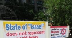 Liderleri tutuklanan Ortodoks Yahudiler eylem yaptı