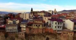 Tarihi Tiflis evleri