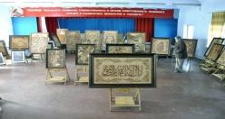 Rus ressam Kur'an-ı Kerim'in  20 ayetini tablolaştırdı
