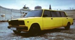 Rus genci Zhiguli'den Limuzin yaptı