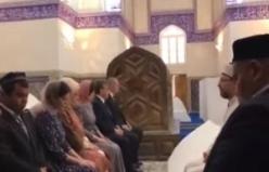 Erdoğan'dan Şah-ı Nakşibend türbesine ziyaret