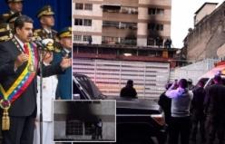 Maduro'ya suikast anı